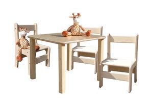 Kindersitzgruppe - Tisch und 3 Stühle - Die Schreiner Christoph Siegel