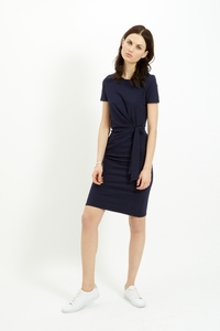Elsa Dress Navy - People Tree