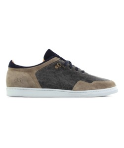 Sneaker low seed / canvas & nubuk/ weiße sole - ekn footwear