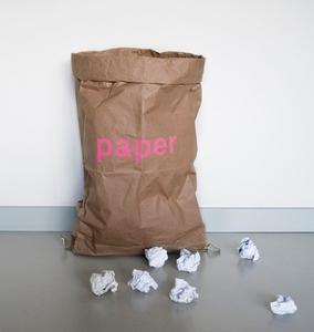 Sack aus Altpapier - Kolor