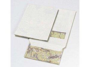 RECYCLING DESIGN UMSCHLÄGE / KUVERTS aus fehlbedruckter Landkarte - C4 mit Fenster - 10 Stück - DRP GmbH