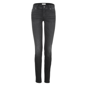 Womens Slim Jeans Black Kyanos - goodsociety