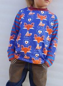 Kinder-Shirt/Longsleeve Karkkis aus Bio- Jersey - Omilich