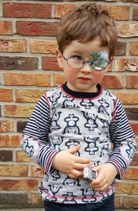 Kinder-Shirt/Longsleeve Affen aus Bio- Jersey - Omilich