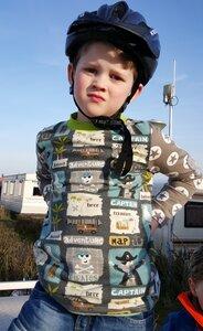 Kinder-Shirt/Longsleeve Piraten aus Öko- Jersey - Omilich