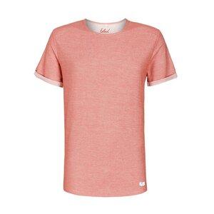 Denim T-Shirt rot - bleed