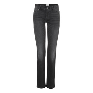 Womens Straight Jeans Black Kyanos - goodsociety