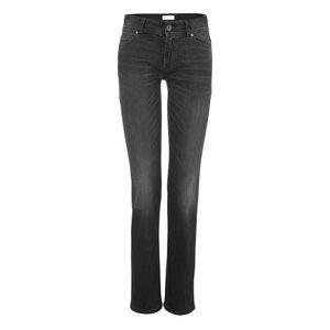 Womens Straight Jeans Black Kyanos - goodsociety