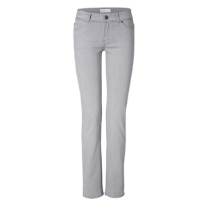 Womens Straight Jeans Black Silver - goodsociety