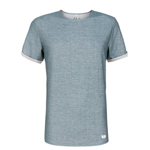 Denim T-Shirt blau - bleed