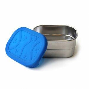 ECOlunchbox Splash Pod, kleine Dose aus Edelstahl mit Silikondeckel - ECOlunchbox