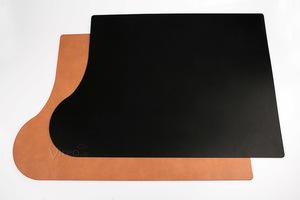 Schreibunterlage 'Plus' 69x49cm aus nachhaltigem Leder (für Linkshänder) - IMTC