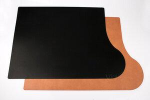"""Schreibunterlage """"Plus"""" 69x49cm aus nachhaltigem Leder (für Rechtshänder) - IMTC"""