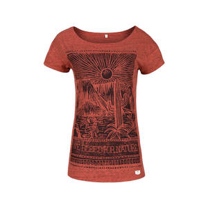 Mex Damen T-Shirt orange - bleed