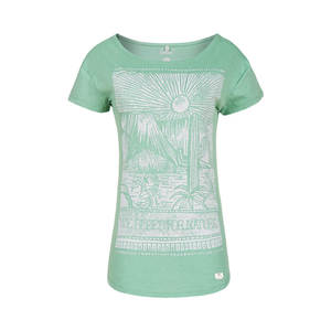 Mex Damen T-Shirt Mint - bleed