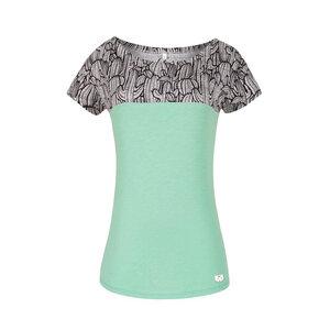 Cactus Damen T-Shirt mint - bleed