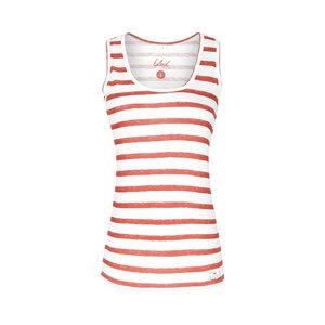 Striped Damen Tank Top - bleed