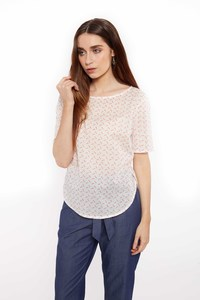 Ginny Dot Blouse - People Tree