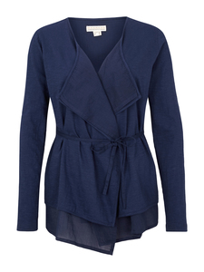 Cardigan mit Voile - navy - Madness
