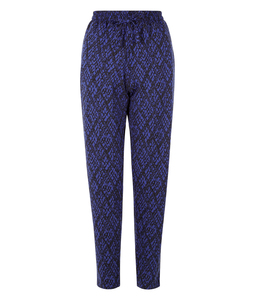 Tasha Jersey Trousers Blue - People Tree