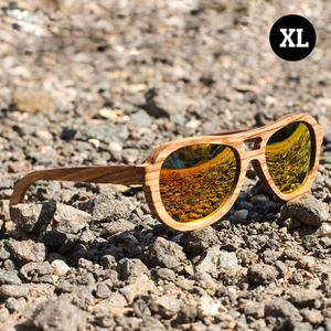 Kapakapa - Sonnenbrille aus Zebraholz - Coromandel