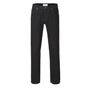 Mens Straight Jeans Black One Wash - goodsociety
