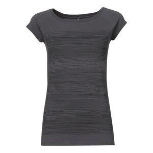 ThokkThokk Strokes Cap Sleeve T-Shirt black/castlerock - THOKKTHOKK