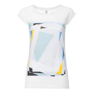 ThokkThokk Mirror Cap Sleeve T-Shirt white - THOKKTHOKK