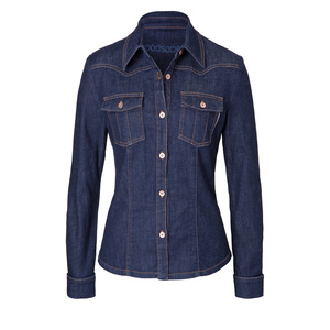 Womens Shirt Jacket - Raw One Wash - goodsociety
