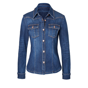Womens Shirt Jacket - Kyanos - goodsociety