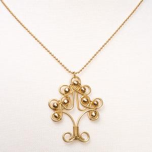 'Banyan' Halskette aus Messing - Kalakosh