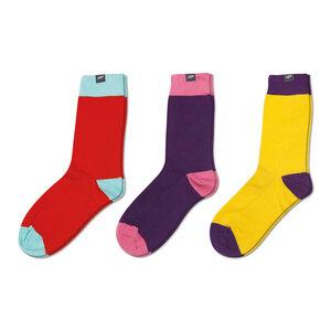 3 Paar Socken Geschenk-Set The Colours - MINGA BERLIN
