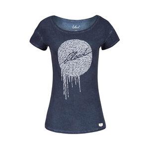 Dot Damen T-Shirt blau - bleed