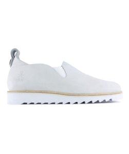 kudzu - weisses nubuk - ripple sohle - ekn footwear