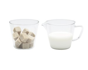Zuckerschale & Sahnegießer NOVA - Trendglas Jena