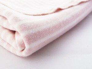 Rosa weiße Babydecke - Ulalü