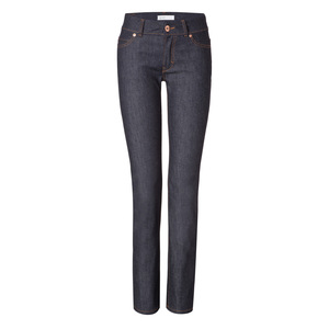 Womens Straight Jeans Raw  - goodsociety