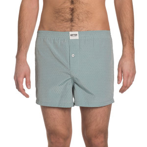 Boxer Short 'Loose Larry' Green Dobby - VATTER
