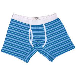 Boxer Brief 'Classy Claus' Blue/Mint Stripes - VATTER