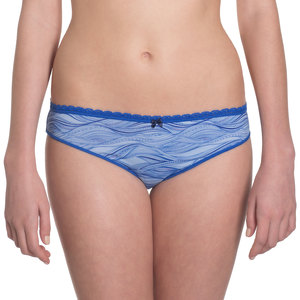 Bikini Slip 'Steady Suzie' Blue Waves - VATTER