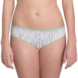 "Bikini Slip ""Steady Suzie"" Mint Stripes - VATTER"