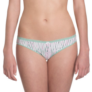 "Brazilian Slip ""Little Lucy"" Mint Stripes - VATTER"