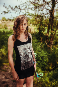 Forest Fair & Organic Ladies Tank Top - ilovemixtapes
