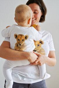Löwen Strampler für Babies - lovely lion