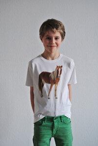 Pferde T-Shirt für Jungs - lovely lion