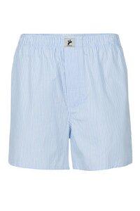 Fair trade Boxershorts M BOXER #STREIFEN blau/weiß - recolution