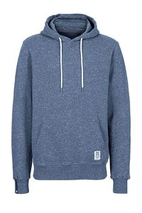 Fair trade Hoodie M URBANE FLAMÉ blau - recolution