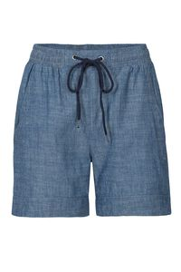 Fair trade Shorts W CUFFED DENIM light blue - recolution
