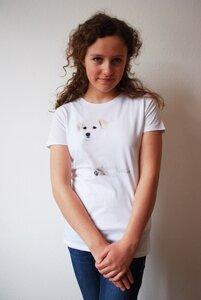 Hunde T-Shirt für Damen - lovely lion