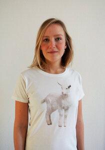 Zicken T-Shirt für Damen - lovely lion
